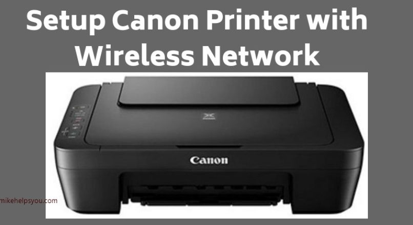 How To Setup Canon Printer | canon printer