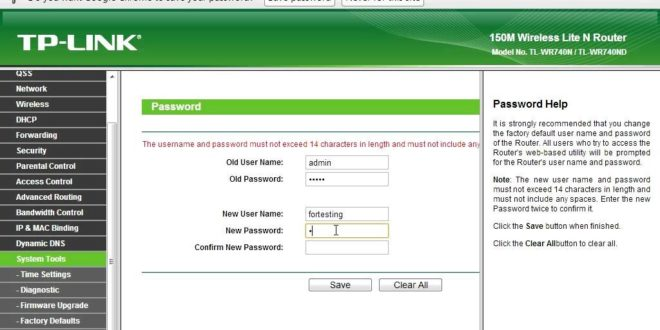How to change the password of the Tp-link routers- tplinkwifi net
