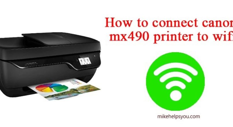 How To Setup Canon mx490 wireless Printer