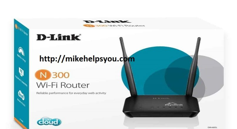 Configure the wireless network settings on D-link N300 router