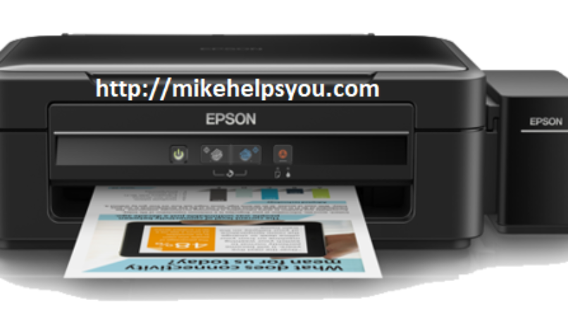 How can I make my Epson offline printer show as online again?