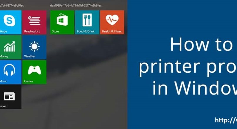 Fix connections to the printer in windows 10